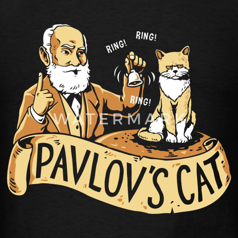 Pavlov's Cat - Men's T-Shirt