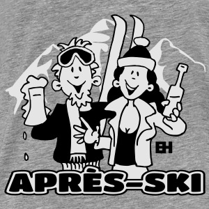 Après-ski party - Men's Premium T-Shirt