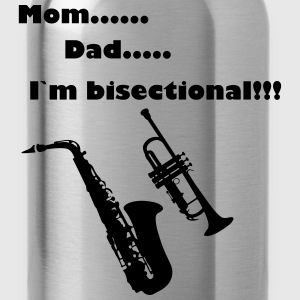 Mom, Dad, I`m bisectional. - Water Bottle