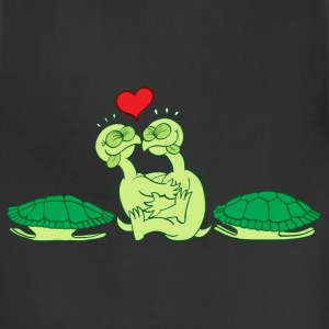 Naked Turtles Making Love T-Shirts - Adjustable Apron