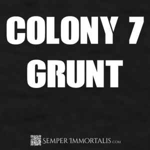Funny Colony 7 Grunt mug - Men's T-Shirt