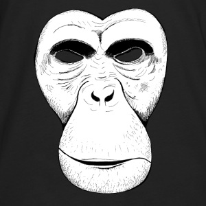 Apemask (chimpanzee) - Men's Premium Long Sleeve T-Shirt