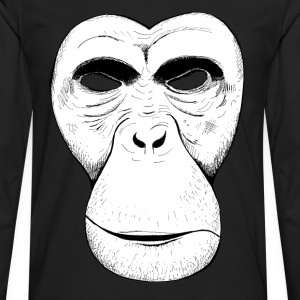 Ape Mask - Men's Premium Long Sleeve T-Shirt