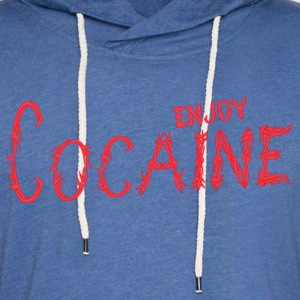 Enjoy cocain - Unisex Lightweight Terry Hoodie