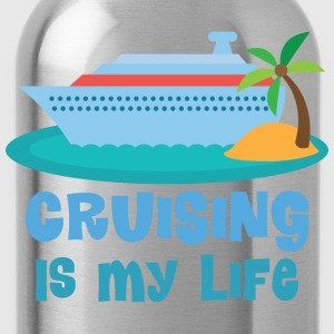 Vacation Cruise Ship Fun Women's T-Shirts - Water Bottle