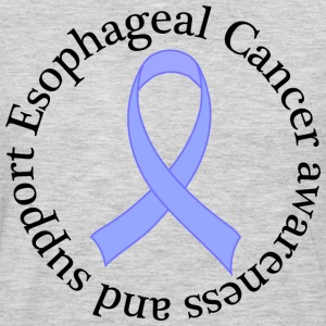 Esophageal Cancer Support Ribbon T-Shirts - Men's Premium Long Sleeve T-Shirt