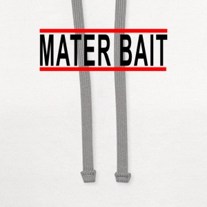 mater_bait - Contrast Hoodie