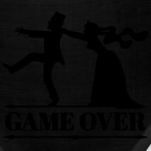 game over bride groom bachelor bachelorette party  T-Shirts - Bandana