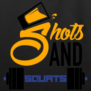 Shots and Squats - Eco-Friendly Cotton Tote