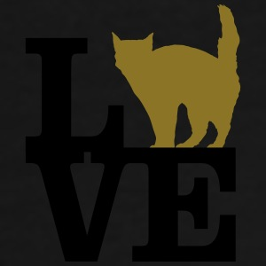 Love Cat Mugs & Drinkware - Men's Premium T-Shirt