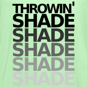 THROWIN' SHADE - Women's Flowy Tank Top by Bella