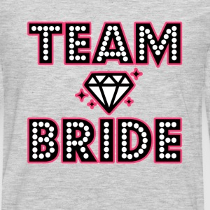 Team Bride Bridesmaid Bachelorette party shirt - Men's Premium Long Sleeve T-Shirt