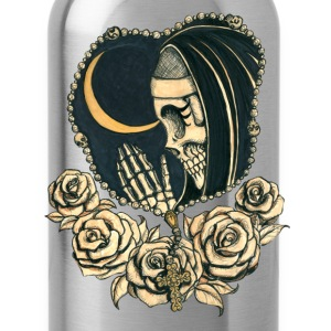 Day of the Dead praying nun with rosary Women's T-Shirts - Water Bottle