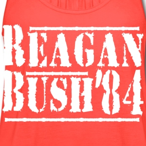 Reagan bush'84 - Women's Flowy Tank Top by Bella