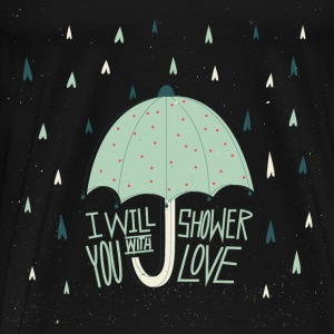 Shower with love Long Sleeve Shirts - Men's Premium T-Shirt
