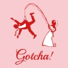 Gotcha! (Bride Fishing Husband / Hen Party) Women's T-Shirts - Women's Premium T-Shirt
