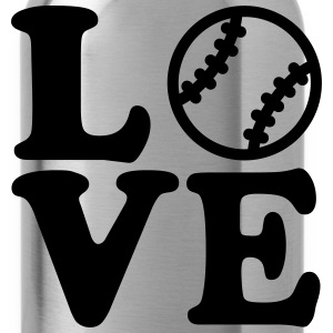 Baseball Women's T-Shirts - Water Bottle
