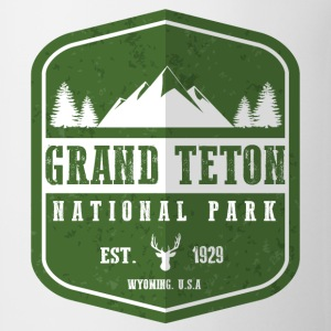 Grand Teton National Park Women's T-Shirts - Coffee/Tea Mug