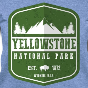 Yellowstone National Park Women's T-Shirts - Women's Wideneck Sweatshirt