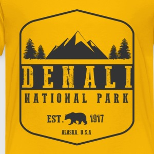 Denali National Park Kids' Shirts - Toddler Premium T-Shirt