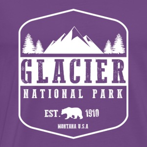 Glacier National Park Hoodies - Men's Premium T-Shirt