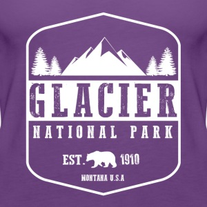 Glacier National Park Hoodies - Women's Premium Tank Top