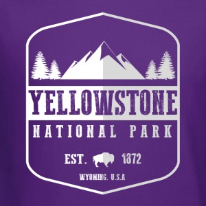 Yellowstone National Park Hoodies - Crewneck Sweatshirt