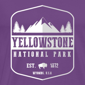 Yellowstone National Park Hoodies - Men's Premium T-Shirt