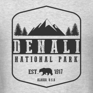 Denali National Park Long Sleeve Shirts - Men's T-Shirt