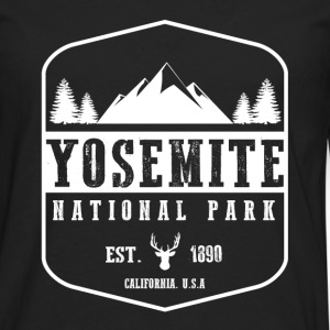 Yosemite National Park Women's T-Shirts - Men's Premium Long Sleeve T-Shirt