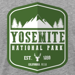 Yosemite National Park Hoodies - Men's Premium T-Shirt