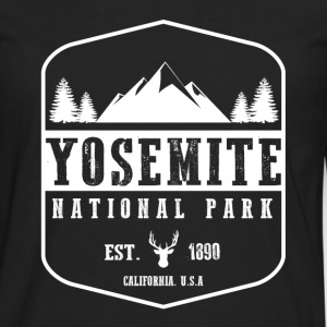 Yosemite National Park T-Shirts - Men's Premium Long Sleeve T-Shirt
