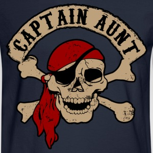 Captain Aunt Women's T-Shirts - Men's Long Sleeve T-Shirt