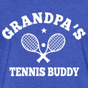 Grandpa's Tennis Buddy Sweatshirts - Fitted Cotton/Poly T-Shirt by Next Level