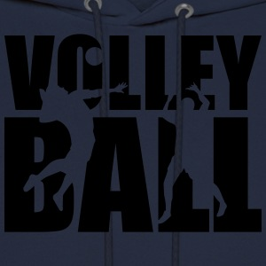 Volleyball T-Shirts - Men's Hoodie