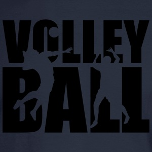 Volleyball T-Shirts - Men's Long Sleeve T-Shirt