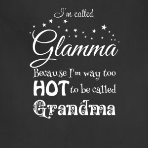 Hot Glamma Grandma Women's T-Shirts - Adjustable Apron