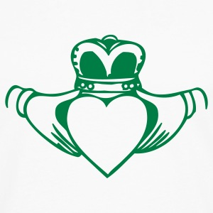 Irish Ireland Claddagh Baby & Toddler Shirts - Men's Premium Long Sleeve T-Shirt