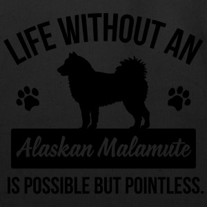 Dog shirt: Life without a Alaskan Malamute Baby & Toddler Shirts - Eco-Friendly Cotton Tote