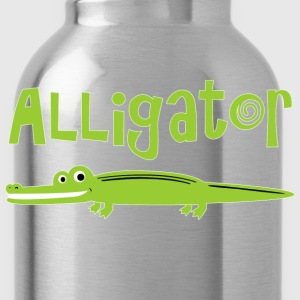 Alligator - Water Bottle