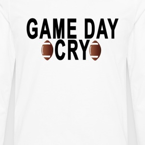 game_day_cray - Men's Premium Long Sleeve T-Shirt