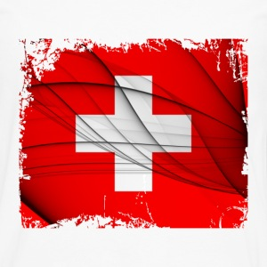 Switzerland Flag - Men's Premium Long Sleeve T-Shirt
