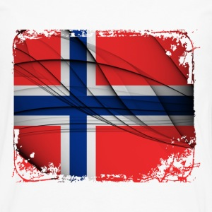 Norway Flag - Men's Premium Long Sleeve T-Shirt
