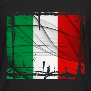 Italy Flag - Men's Premium Long Sleeve T-Shirt