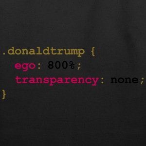 Donald Trump's CSS Style Sheet T-Shirts - Eco-Friendly Cotton Tote