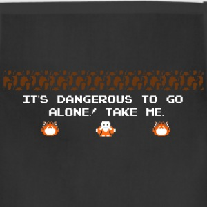 It's dangerous to go alone ! Take me... - Adjustable Apron