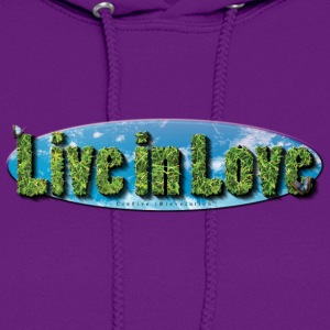 Live in Love Planet Women's T-Shirts - Women's Hoodie