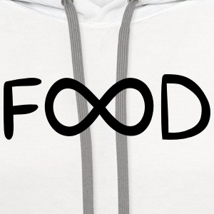 ENDLESS FOOD Women's T-Shirts - Contrast Hoodie
