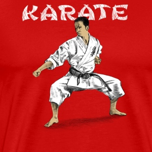 karate Tank Tops - Men's Premium T-Shirt