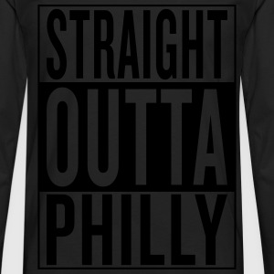 straight outta Philly T-Shirts - Men's Premium Long Sleeve T-Shirt
